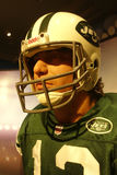 Joe Namath Wax Figure Stock Images