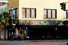 Joe Pasta, King Street, Charleston, SC. Royalty Free Stock Image