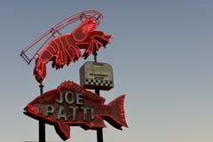 Joe Patti havs- restaurang, Pensacola, Florida, USA arkivbilder