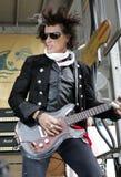 Joe Perry Performs im Konzert stockbilder