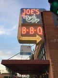 Joe`s Real B.B.Q In Gilbert,Arizona Stock Photo