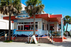 Joe's to Go at the beach. Hit the beach and Joe's to Go at Isle of Palms in South Carolina Stock Images