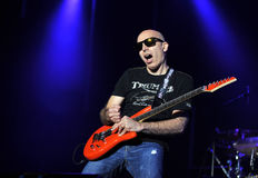 Joe Satriani Stock Photo