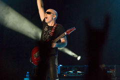 Joe Satriani in Concert stock photo