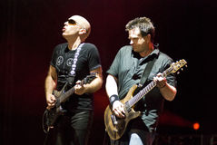 Joe Satriani in Concert stock photos