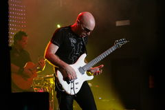Joe Satriani Live Royalty Free Stock Image
