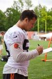 Joe Schobert NFL Cleveland Browns stock images