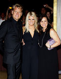 Joe Simpson, Jessica Simpson and Tina Simpson Stock Image