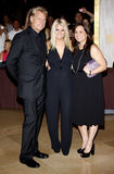 Joe Simpson, Jessica Simpson and Tina Simpson Royalty Free Stock Photos
