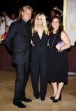 Joe Simpson, Jessica Simpson and Tina Simpson Stock Photo