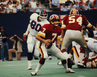 Joe Theisman, Washington Redskins Photographie stock libre de droits