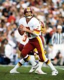 Joe Theismann, Washington Redskins. Washington Redskins QB Joe Theismann #7. (Image from color slide Royalty Free Stock Photography