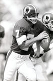 Joe Theismann. Washington Redskins QB Joe Theismann, #7 (Image taken from the B&W negative Stock Photo
