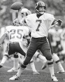 Joe Theismann. Washington Redskins QB Joe Theismann, #7 (Image taken from b&w negative Stock Images