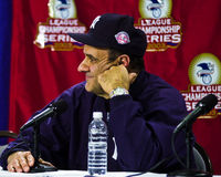 Joe Torre, διευθυντής των New York Yankees Στοκ Εικόνες