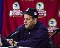 Joe Torre, διευθυντής των New York Yankees Στοκ φωτογραφία με δικαίωμα ελεύθερης χρήσης