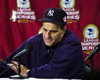 Joe Torre, διευθυντής των New York Yankees Στοκ Εικόνα