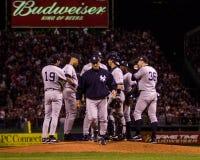 Joe Torre, διευθυντής των New York Yankees Στοκ εικόνα με δικαίωμα ελεύθερης χρήσης