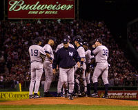 Joe Torre, gerente dos New York Yankees Imagem de Stock Royalty Free