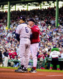 Joe Torre and Grady Little. Royalty Free Stock Photography