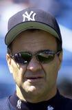 Joe Torre Manager der New York Yankees stockbild