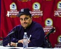 Joe Torre, διευθυντής των New York Yankees Στοκ Φωτογραφίες