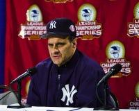 Joe Torre, New York Yankees Manager Royalty Free Stock Image