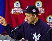 Joe Torre, New York Yankeesmanager Royalty-vrije Stock Foto