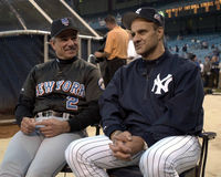 JOE TORRE NY YANKEES AND BOBBY VALENTINE Royalty Free Stock Image