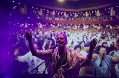 Joe Victor σε Mi φεστιβάλ 2018 πολυεθνικής συμφωνίας για τις επενδύσεις Στοκ Φωτογραφίες