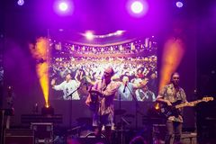 Joe Victor σε Mi φεστιβάλ πολυεθνικής συμφωνίας για τις επενδύσεις Στοκ Φωτογραφίες