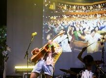 Joe Victor σε Mi φεστιβάλ 2018 πολυεθνικής συμφωνίας για τις επενδύσεις Στοκ Εικόνα