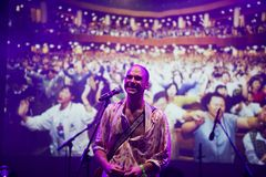 Joe Victor σε Mi φεστιβάλ 2018 πολυεθνικής συμφωνίας για τις επενδύσεις Στοκ Εικόνες