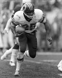 Joe Washington. Washington Redskins RB Joe Washington, #25. (Image taken from b&w negative Royalty Free Stock Images