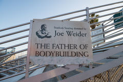 Joe Weider Stock Image