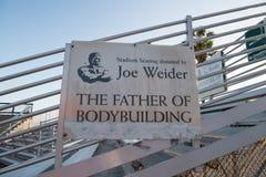 Joe Weider Stock Image