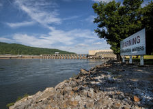 Joe Wheeler Dam Guntersville Alabama 2 Stockfotografie