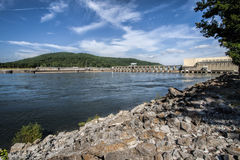 Joe Wheeler Dam Guntersville Alabama 2 stockfotos