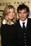 Joe Wright, Rosamund Pike Royalty Free Stock Photography