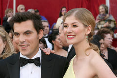 Joe Wright,Rosamund Pike Royalty Free Stock Photo