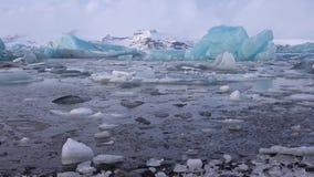 Joekulsarlon, Ισλανδία, Ευρώπη απόθεμα βίντεο
