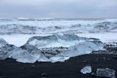 Joekulsarlon, Исландия Стоковое Фото