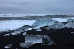 Joekulsarlon, Исландия Стоковое Изображение