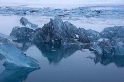 Joekulsarlon, Исландия Стоковое Изображение RF