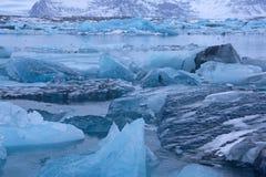 Joekulsarlon, Исландия Стоковая Фотография