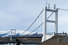 joekulsarlon моста залива Стоковые Изображения RF