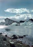 joekulsarlon för 2 iceland Arkivfoton