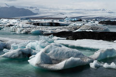 joekulsarlon för fjärdisbergicelands Arkivbilder