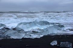 Joekulsarlon, IJsland Stock Afbeeldingen