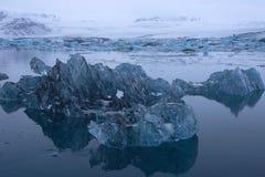 Joekulsarlon, IJsland Royalty-vrije Stock Foto's
